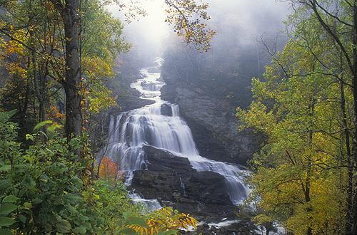 Cullasaja Falls, North Carolina