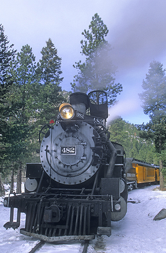 Steam Locomotive, Durango and Silverton Narrow...