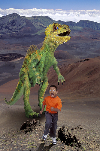 Samuel, Land of Dinosaurs