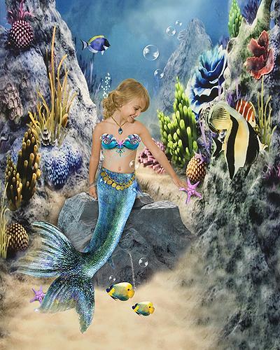 Ashlyn, The Little Mermaid