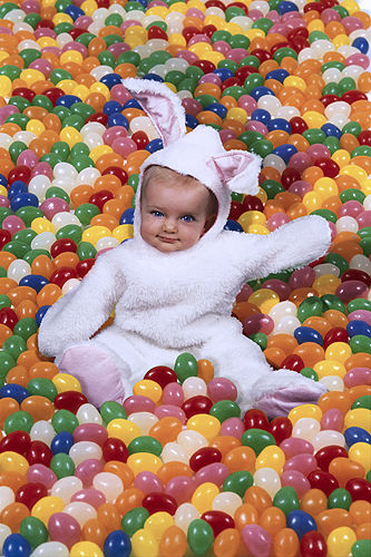 Sarah, Baby Bunny Loves Jelly Beans