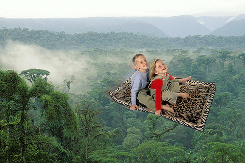 Jake and Chloe, Magic Carpet Flight