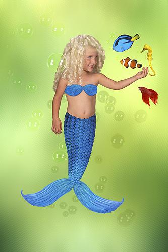 Sarah, Beautiful Mermaid