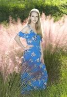 Sarah in Pink Grasses