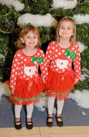 Ashlyn & Hayden Ready for Santa