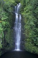 Waterfall Along the Hana Highway, Maui, Hawaii