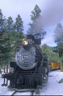 Steam Locomotive, Durango and Silverton Narrow Gauge Railroad