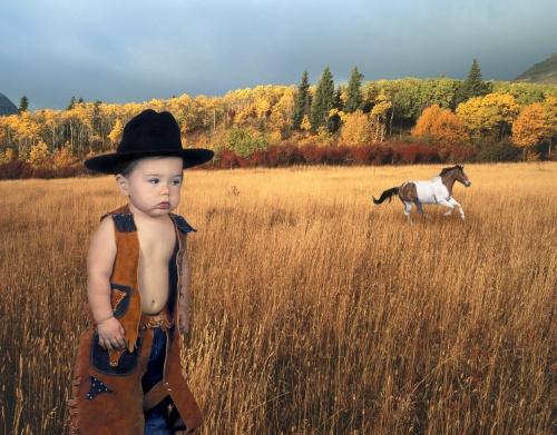 Lucian, Little Cowboy