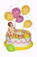 """Ashlyn's """"First"""" Birthday"""