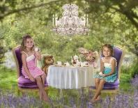 Hayden and Ashlyn, The Magical Teaparty