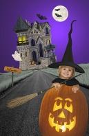 Hayden, Halloween and the Haunted House