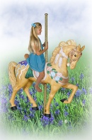 Leah, The Carousel Horse