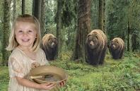 Leah, Goldilocks and the Three Bears
