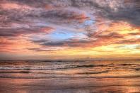 Sunset at Siesta Key Beach